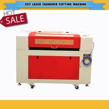 90W Ruida CO2 laser engraver machine/laser cutter machine 6090/9060 with reddot position system/Laser tube protector system
