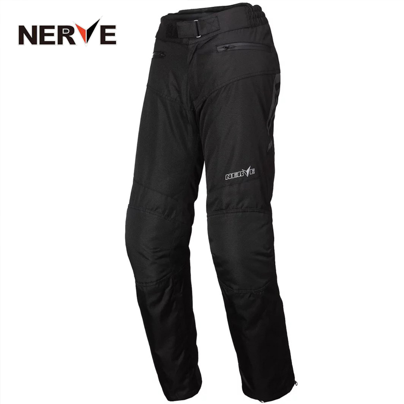 NERVE Brand Men Waterproof Motorcycle Riding Pants MOTO/ATV Cycling Trousers Motocross Racing Long Jeans with Knee Protectors<br><br>Aliexpress