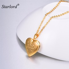 Taurus Necklace Heart Photo Locket Pendant Necklace Gold/Silver Color Zodiac Charm Memory Locket Necklace Gift For Women P3208(China)