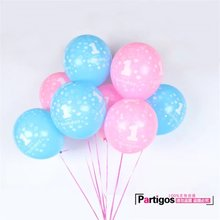10pcs 12inch 2.8g pink blue latex balloons birthday party decoration boy '1- Girls' 1 latex balloons wholesale toys air globos