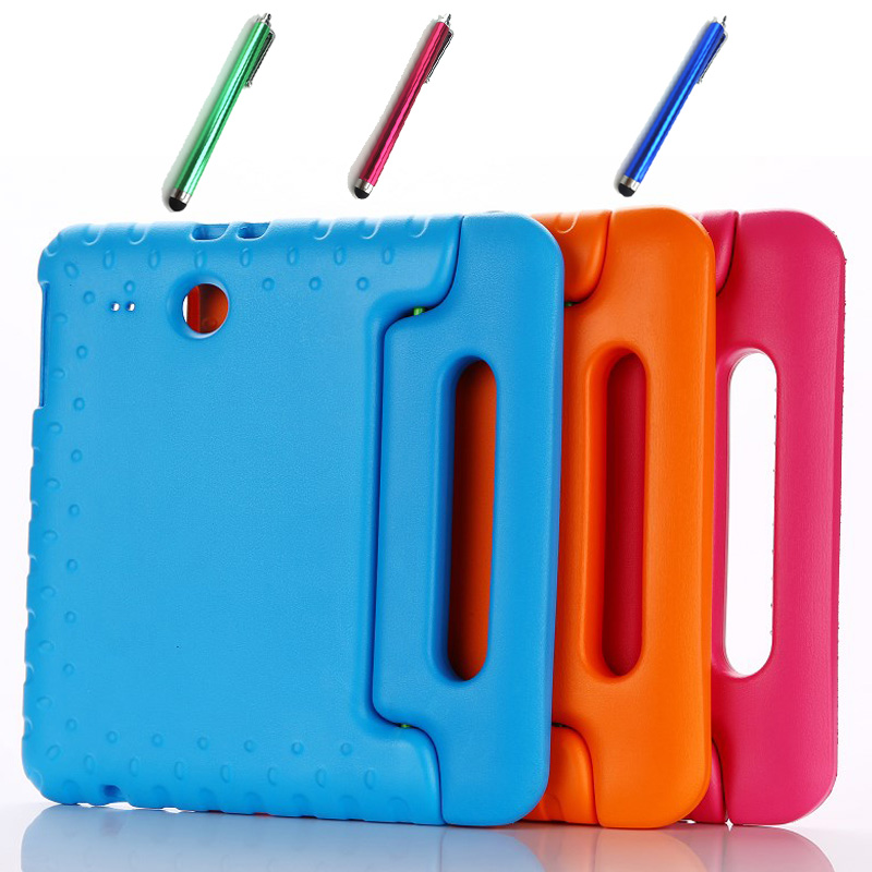 Luxury Children EVA foam silicone cover case for Samsung galaxy Tab E 9.6 T560 T561 Child shockproof Tablet case+pen<br><br>Aliexpress
