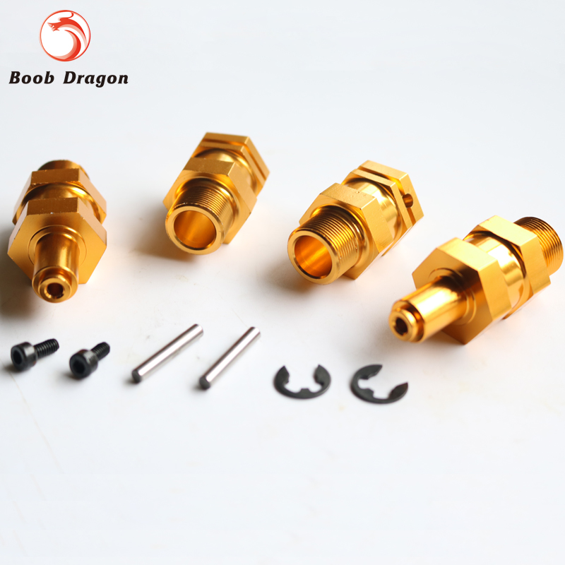Alloy upgrade 24mm hex hub Fit 1/5 HPI BAJA 5B Parts Rovan King Motor<br><br>Aliexpress