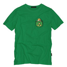 Game The Legend of Zelda T-shirt Link Cosplay Men's T-Shirt Fashion Cotton Short Sleeve Tops Tees for Men  Euro Size S-5XL