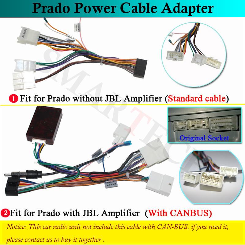 Toyota prado cable