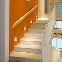 5pcs New Arrivals Top Quality Stairs Lights Recessed Led Stair Light Arandela Modern 100-240v 1.5w Wall Lights Step Lamp Indoor