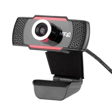 HXSJ S30 HD 1.0MP USB Webcam Web Computer Camera Digital Video with Built-in Microphone(China)