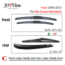 "Buy S610 24""+16"" Front Wiper Blade Rear Wiper Arm Blade KIA Cerato Hatchback (2004-2013),14"" rear wiper blade KIA Cerato for $7.99 in AliExpress store"