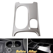 BBQ@FUKA Center Console Water Cup Holder Cover Trim Car stickers Styling Fit Mercedes Benz GLA CLA W176 B-Class AM - ShenZhen Enjoy Auto Accessary Co.,Ltd store