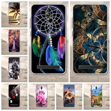Phone Cases for Fundas Asus ZenFone Go ZC500TG 5.0 inch Back Cover Cell Phone Case 3D Printed Silicon TPU Soft Mobile Phone Case