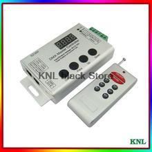 Led DMX Master controller connecting with DMX decoder, RGB RF remote control DC12-24V, free shipping