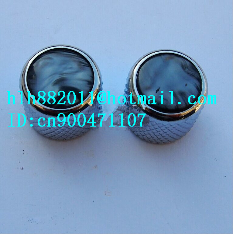 free shipping new electric guitar tone and  volume metal electronic Control Knobs cap   DM-8100  8090<br><br>Aliexpress