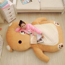 Japan Cartoon Anime Rilakkuma Carpet Mattress Jumbo Plush Soft Bear Beanbag Tatami Sofa Bed