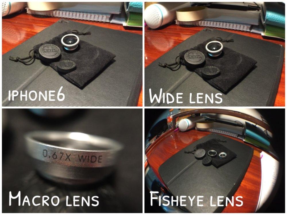 3 In 1 Fish Eye font b Lens b font Wide Angle Micro Camera Fisheye font
