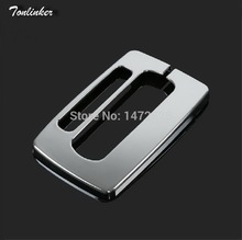 Tonlinker 1 PCS DIY Car Styling New ABS Chrome Sale Ecosport Gear Light Ring Panel Cover Case Stickers for Ford Ecosport 2014