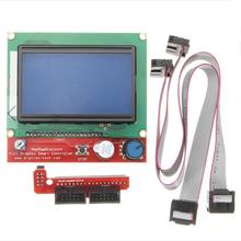 DuoWeiSi 3D Printer Parts Intelligent Digital LCD 12864 Display 3D Printer Controller For RAMPS 1.4 Reprap(China)