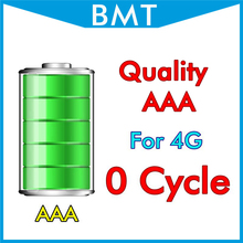 BMT original 10pcs/lot Quality AAA 1420mAh 3.7V 0 zero cycle Battery for iPhone 4 4G replacement repair parts BMTI4G0BTAAA(China)