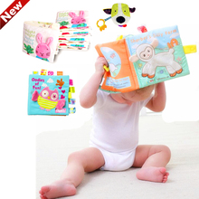 Children's Cloth Book toys Developing educational baby soft books(China)