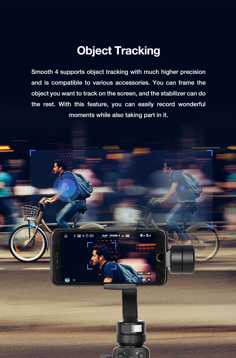 Presell ZHI YUN smooth 4 smartphone Handheld 3 Axis Gimbal Portable video Stabilizer for iPhone x Camera Gimbal VS zhi yun Smooth Q