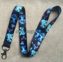 Lot 10Pcs Cartoon Stitch Mobile Cell Phone Lanyard Neck Straps Party Gifts S239(China)