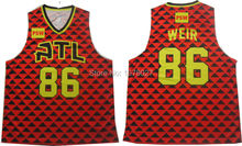 Newest Design Sublimation Custom Basketball Jersey