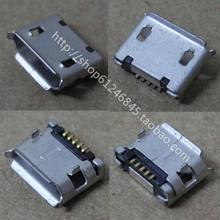 free shipping for Netbook Tablet PC phone Micro USB data interface pin plug end 5P U047 5.9