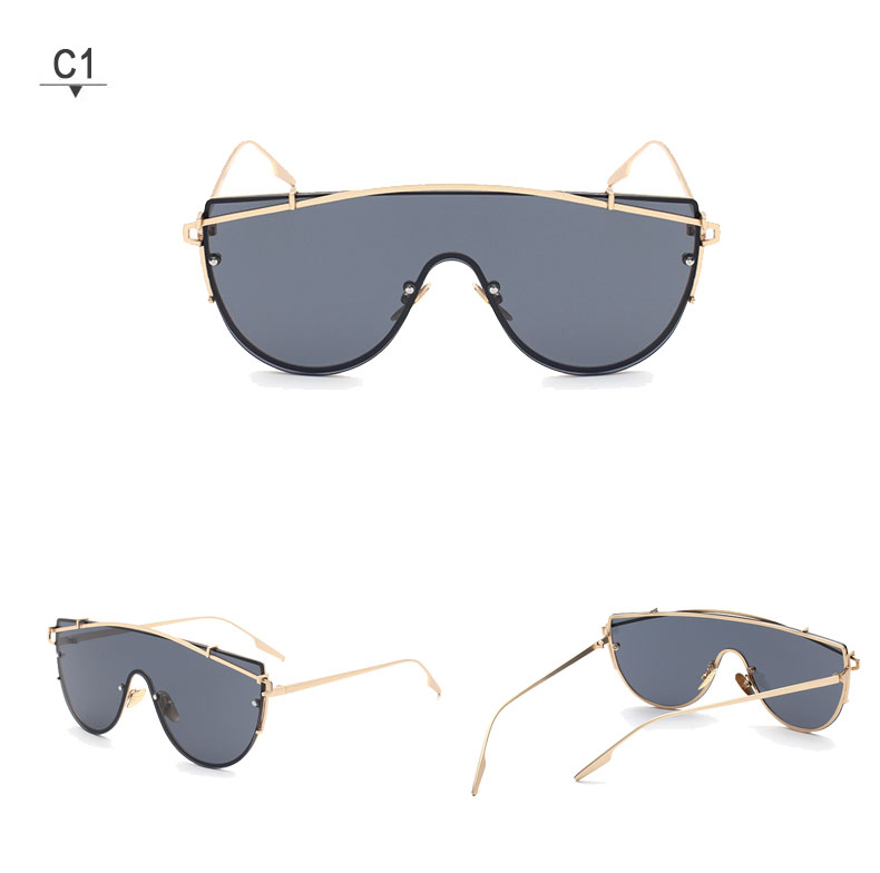 Feirdio Fashion Products Ladies Mens Sunglasses Glasses Coating Sunglasses Luxury Oversize Lunette De Soleil Mirror Reflective