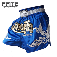 Men Polyester Mma Shorts Muay Thai Boxing Shorts Pantalones Mma bule boxeo MMA Tiger Kickboxing Boxeo Sanda Embroidery Fighting