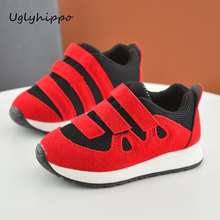 Children Boys Sneakers 2017 New Spring Sport Shoes Kids Running Soft Breathable Out Sole Girls Shoes CHS04