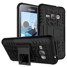 Heavy Duty Defender Case For Samsung Galaxy J1(2016) J120 J120F J120H J120M J120T Kick-Stand Hybrid Armor Hard Cover Phone Cases