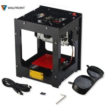 WALFRONT 1500MW Laser Cutter Engraver CNC Crouter CNC Laser Cutter Mini Engraving Machine DIY Print Laser Engraver High Speed