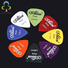 50pcs/lot guitar picks Alice acoustic electric guitar accessories musical instrument thickness 0.58-1.5 can choose Y14 GYH