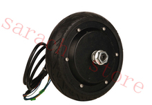 "24V 250W  6.5"" without  brake  electric wheel hub motor brushless hub motor skateboard electric motor"