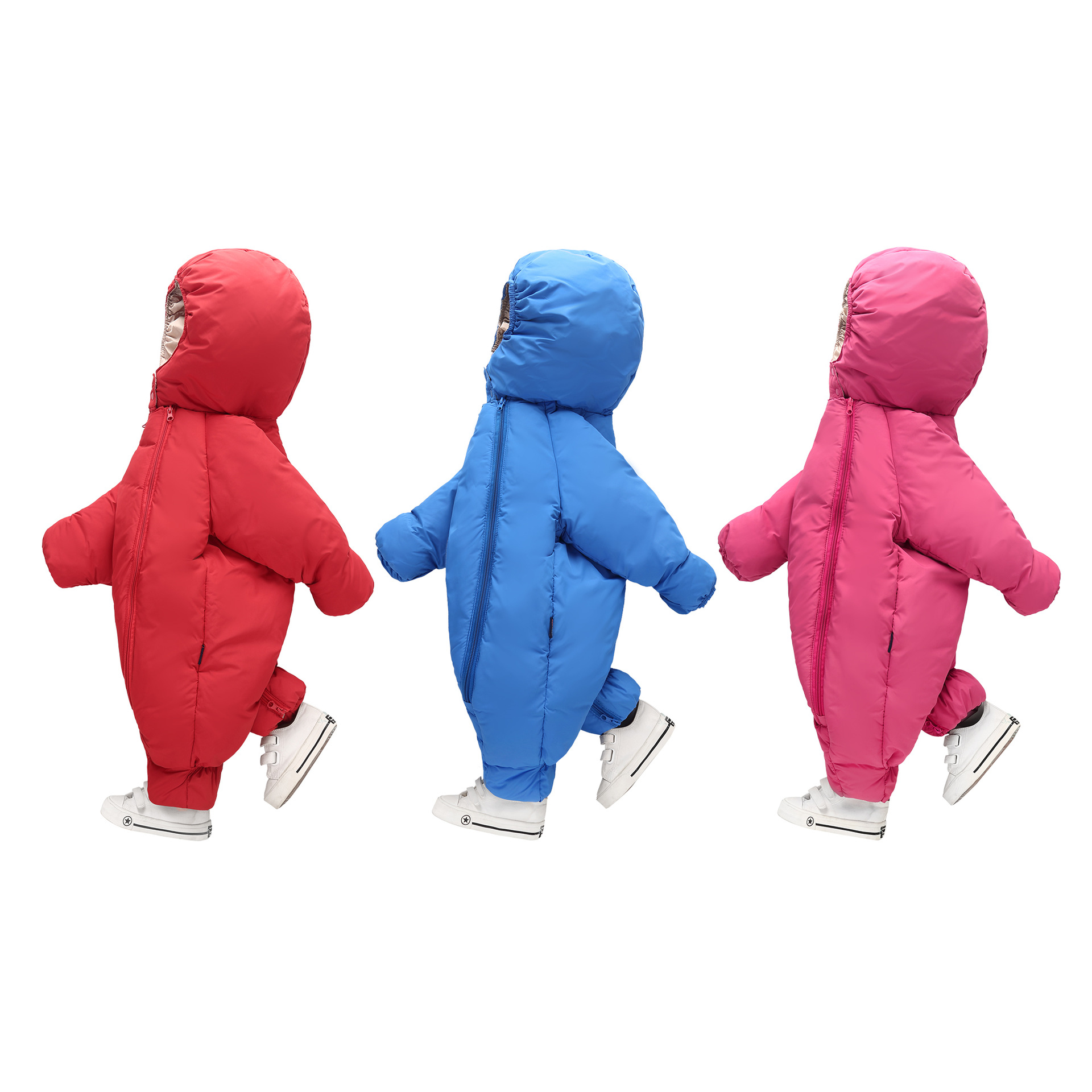 2017 new baby jumpsuit autumn winter snowsuit jacket kids overcoat Park baby girl clothing outdoor warm coat with hat for boys<br>