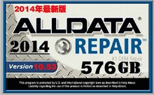 WD/TOSHIBA/HGST/ Seagate randomly sent auto repair software Alldata 10.53+Mitchell+2013+ELSA 4.1 etc 35 in 1 with 1TB NEW HDD(China)