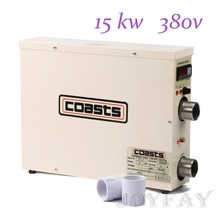 15KW 380V Electric Hot Tub Water Heater for Swimming Pool & Home Bath SPA