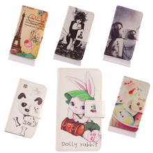 AIYINGE  Case For UTime Smart U6 Painting Leather PU Skin Cell Phone Cover Book Design Wallet Pouch & Card Holder