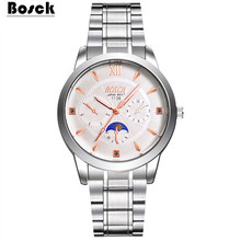 Park poem watches ladies strip double calendar luminous digital simple fashion leisure quartz gifts(China)