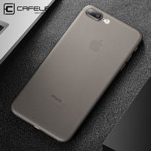 Cafele Ultra-thin Matte PP Case for iPhone 7 / 7 Plus Anti-fingerprint Phone Cover for iPhone 7 / 7 Plus Black Grey White Blue(China)