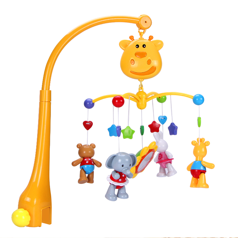 Children Baby Animal Hand Bell Music Development Toy Bed Bell Soft Toy EL