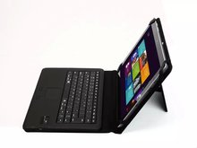 "For MicroSoft Surface 3 RT3 RT 3 10.8"" Tablet Removable Wireless Bluetooth Touchpad Keyboard + Stand PU Leather 2 in1 Cover Case"