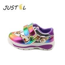 2017 spring new color pattern girls sports shoes outdoor children running shoes non-slip fashion sneakers size26-30
