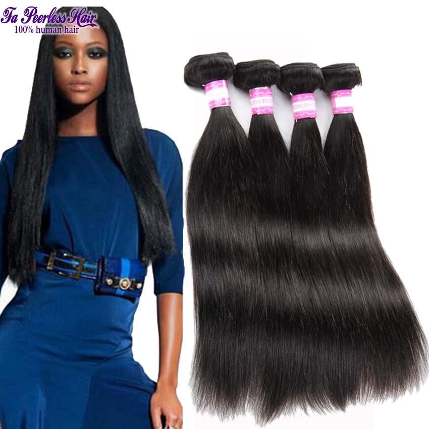 rosa hair products brazilian virgin straight human hair cheap brazilian hair 4 bundles meches bresilienne lots alimoda hair<br><br>Aliexpress