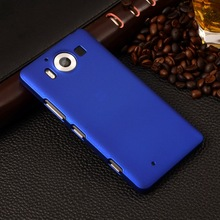Fashion Frosted Matte Hard Case For Microsoft NOKIA LUMIA 950 N950 Multi Colors Rubberized Plastic Cover Mobile Phone Bag