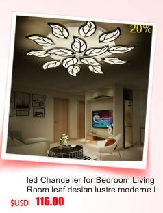 Ceiling Lights & Fans Chandeliers Candid Led Modern Chandelier Lighting Novelty Lustre Lamparas Colgantes Lamp For Bedroom Living Room Luminaria Indoor Light Chandeliers