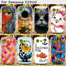 Cell Phone Skins Cases For Samsung Galaxy Pocket Neo S5310 GT-S5310 Cases Hot Painting Hard Plastic Cover Original Phone Case
