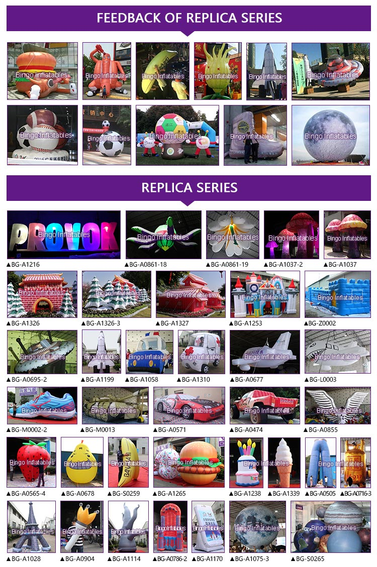 replica-series-Bingo-Inflatables