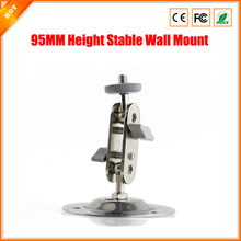 Free Shipping Whole-sale 10pcs/lot 95MM Height Stable Wall Ceiling Mount For CCTV Camera Bracket