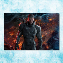 Mass Effect 2 3 4 Hot Shooting Action Game Art Silk Canvas Poster 13x20 24x36 inch Pictures For Living Room Decor (more)-5