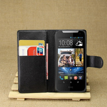 "Fashion Wallet PU Leather Cases For HTC Desire V1 / Desire 310 D310w 4.5"" Magnetic Filp Cover Fundas Holder Stand Cell Phone Bag"