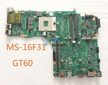 MS-16F31 For MSI GT60 Laptop Motherboard Mainboard 100%tested fully work